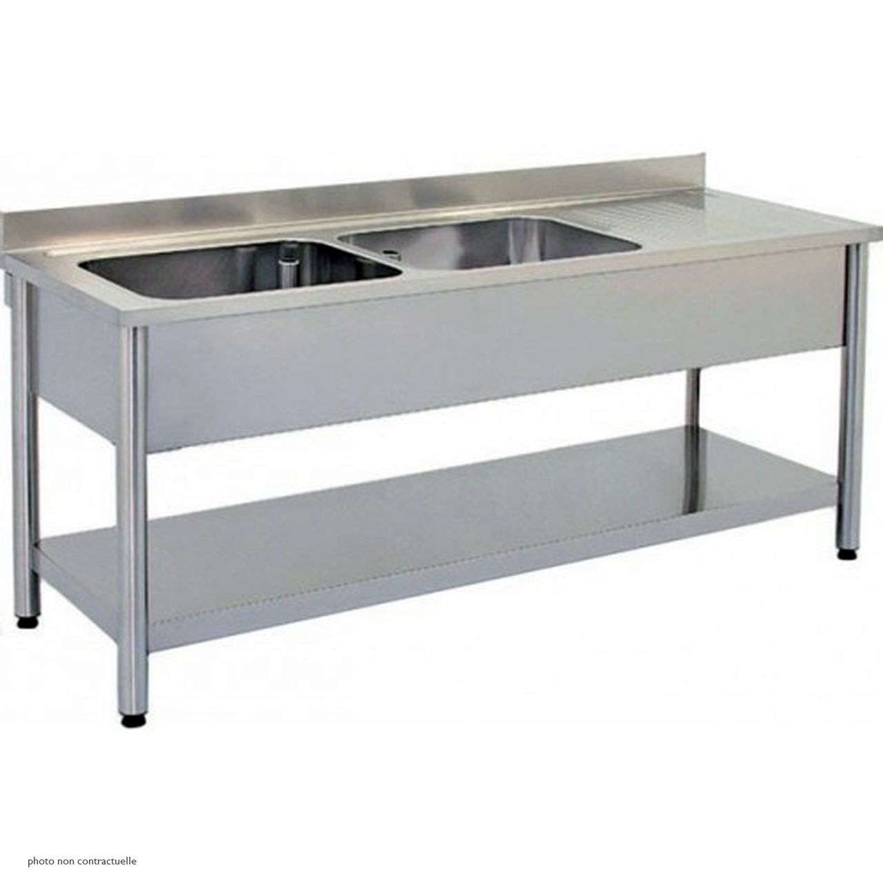 Table inox + plonge